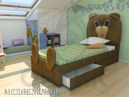 Кровать Shale Медвежонок